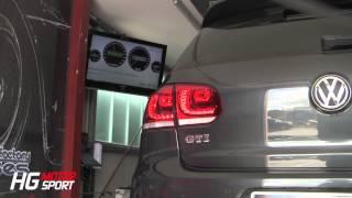 VW Golf 6 GTI with K04-64 Turbo Kit and SLS ECU Stage-MAX Sound Intake Intercooler Bull-X HF-Series