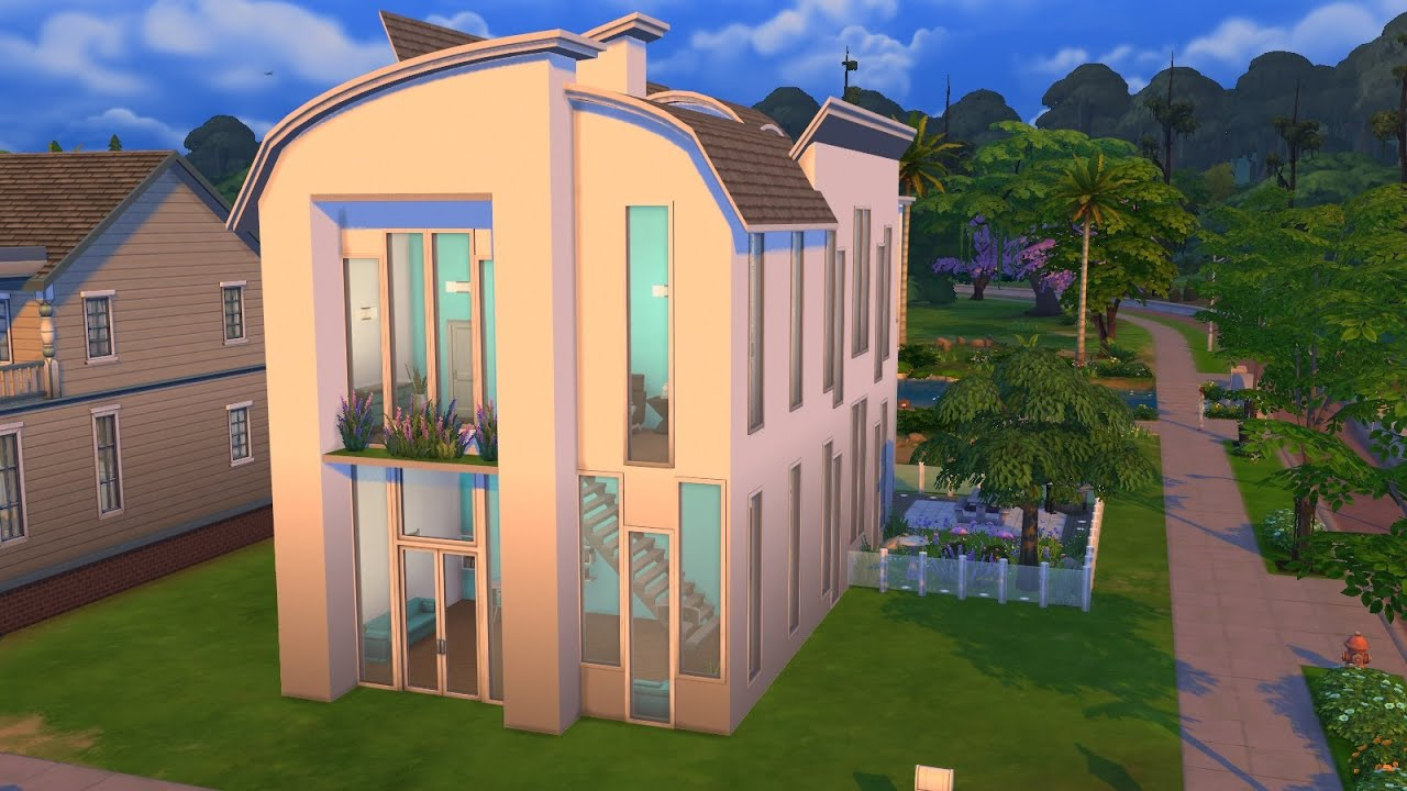 Sims 2 build a modern house