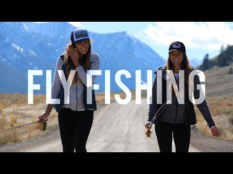 Fly Fishing for Trout in the Mountains | It's Her First Time Fly Fishing!