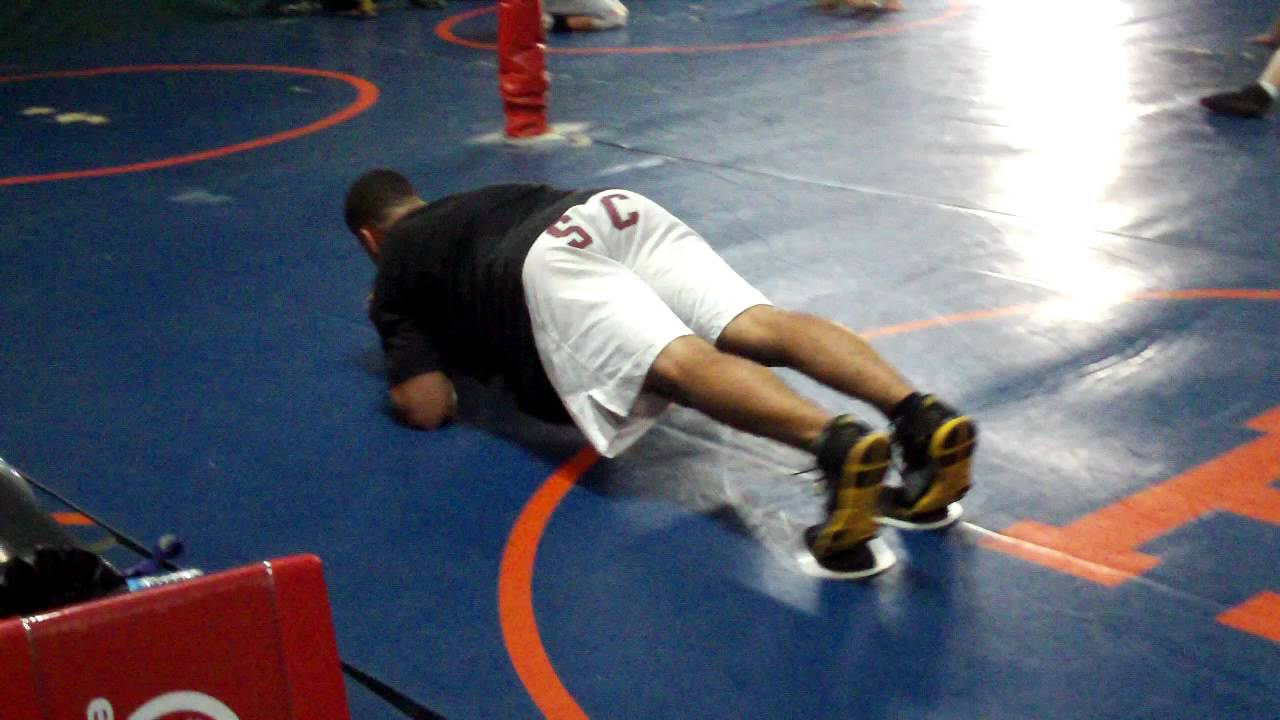 Core Training for Wrestling Sliders Army Crawl at VHW Club in Syosset