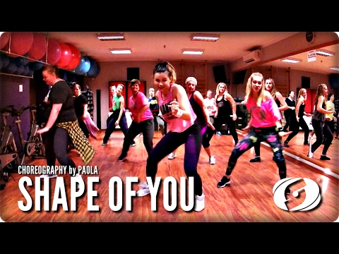 SHAPE OF YOU - Salsation® Choreography by Paola