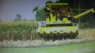 PREET COMBINE 987..adding values to agriculture..(preet tractor)