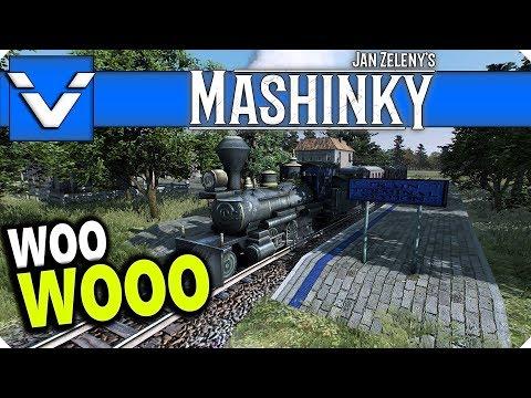 Mashinky: Woo Wooo | Gameplay / Let's Play | Part 1 (Alpha)