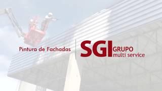 Pintura fachadas - grupo sgi
