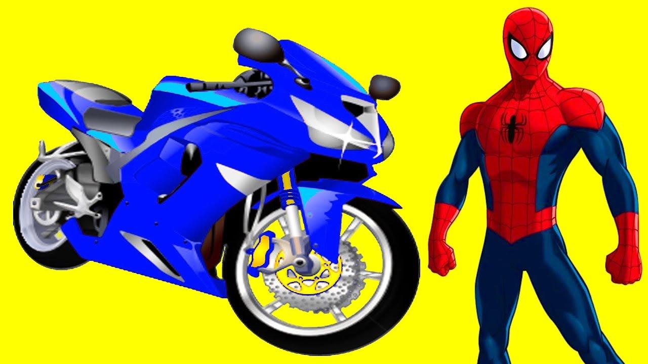 Spiderman drive spiderman motorcycle youtube - Spider man moto ...