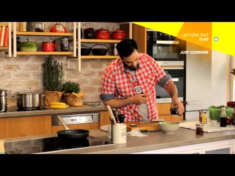 JUST COOKING - πρεμιέρα τη Δευτέρα 30.3.2015, στις 15:45