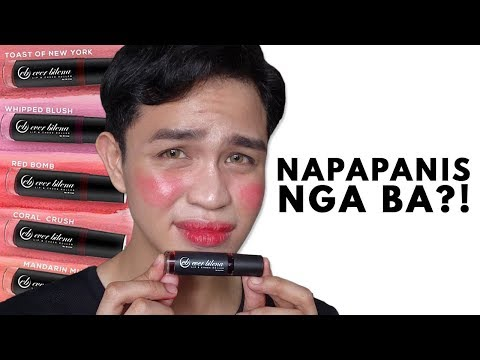NEW SHADES! EVER BILENA LIP & CHEEK ROLLER   Swatches & Review