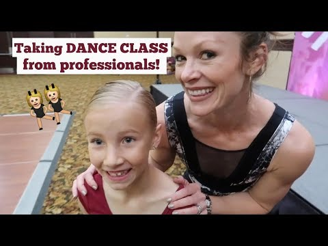 Brielle Takes Dance Class from Professionals!