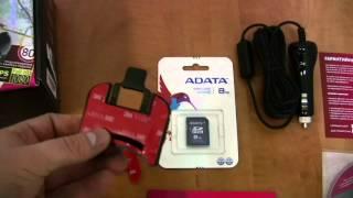 Обзор комплектации видеорегистратора Akenori DriveCam 1080PRO