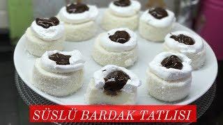 Süslü Bardak Tatlısı Tarifi - Naciye Kesici - Yemek Tarifleri