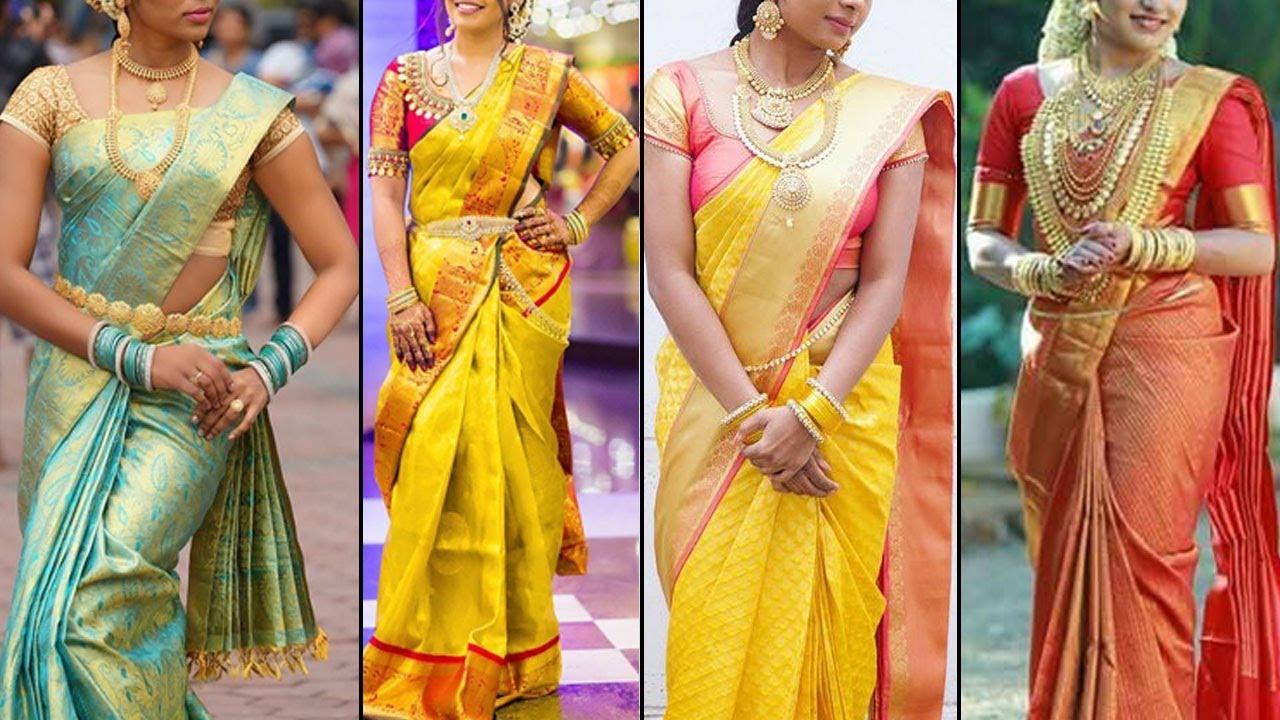 5b6901b39003af Latest 2019 Bridal Pattu Saree Blouse Designs Designer Saree Blouses ...