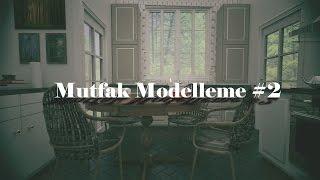 3ds Max Mutfak Modelleme Bölüm 2