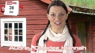 january 28th: Pippi Longstocking.: Audrey Dundee Hannah