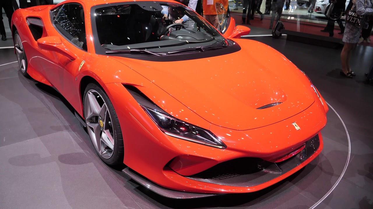 New Ferrari F8 Tributo First Look Youtube