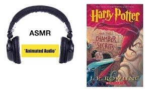*Animated Audio* | ASMR Whispered Reading - Harry Potter And T…