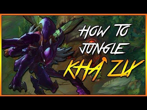 How to Kha'Zix Jungle Guide | Season 8 Patch 8.7 | League of Legends