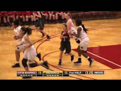 High School Girls Basketball: Kenyon-Wanamingo vs. DeLaSalle