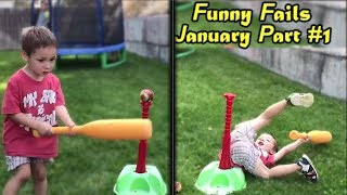 EPIC FAILS of January 2018 (Part 1) | Funny Fail Compilation