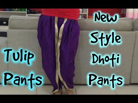 New Style Dhoti Pants- Tulip Pants