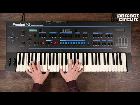 Sequential Circuits Prophet VS Vintage Vector Synthesizer