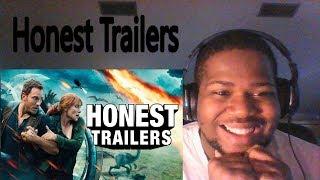 Honest Trailers - Jurassic World Fallen Kingdom - REACTION!!!
