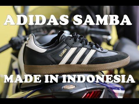 Adidas SAMBA - made in INDONESIA - ON FEET