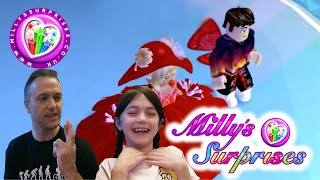 Milly's Surprises, Oh No Daddy's In Roblox Royal High
