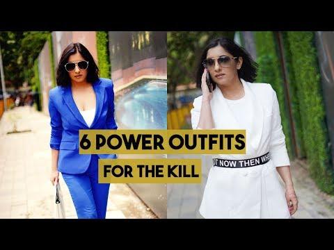 6 POWER OUTFITS FOR THE KILL   SHONIMA KAUL