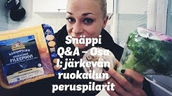 Snäppi Q&A osa I - Järkevän ruokailun peruspilarit