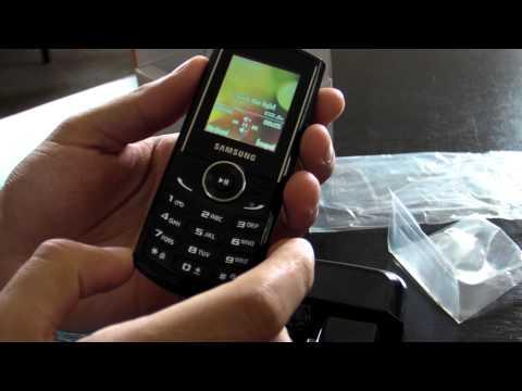 Samsung E2230 review HD ( in Romana ) - www.TelefonulTau.eu -