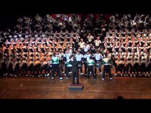 Ohio University Marching 110 - Ohio Theatre 2012 - What Makes You Beautiful - One Direction