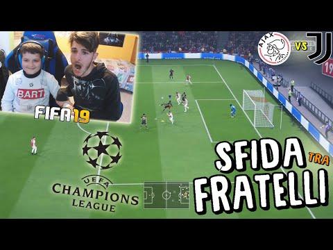 AJAX vs JUVENTUS - QUARTI DI FINALE CHAMPIONS LEAGUE! - Fifa 19