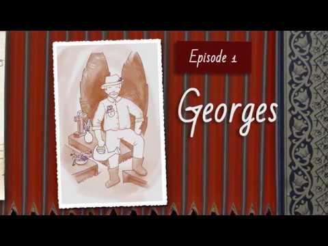 Georges, dessin animé inspiré du livre Madame Betty, chroniques parisiennes- Béatrice Pardossi Sarno