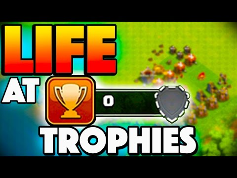 LIFE AT 0 TROPHIES! - Clash of Clans - What Is It Like?