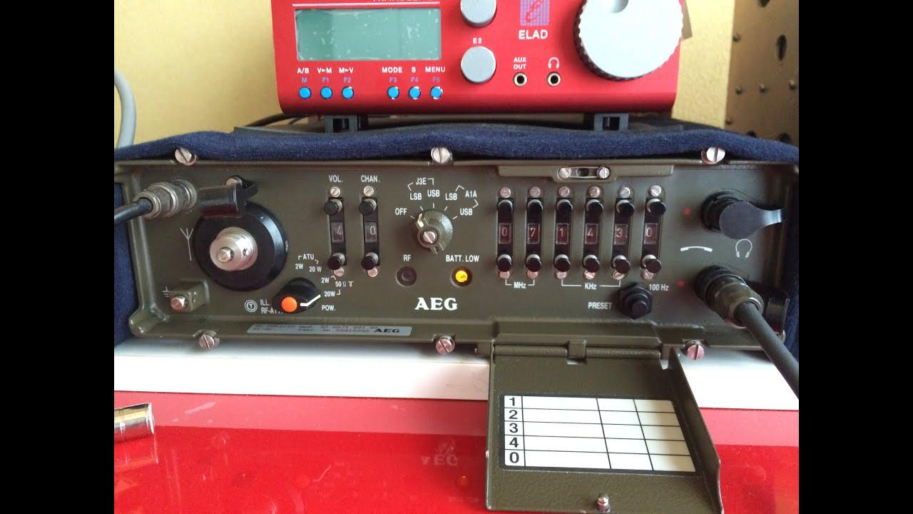 AEG Telefunken SE6861/12 Military Manpack, ATT/AGC mods