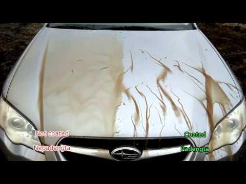 NanoBest nanotechnology coated and not coated car body