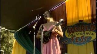 "MaMuse sings ""just fine"" at California World Music festival, Grass Valley Ca, 2010"