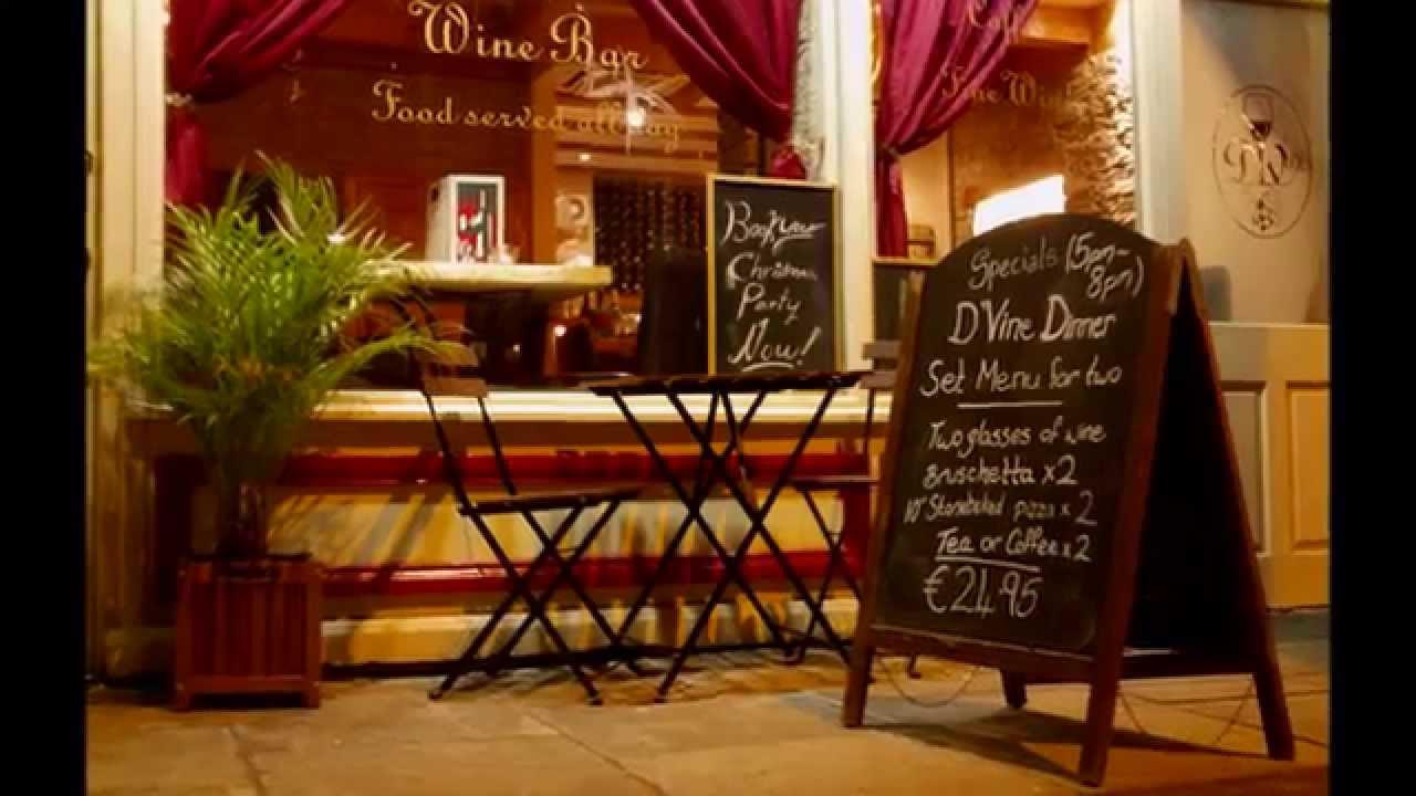 Wine Cafe Dublin D Vine Bar Cute Italian Restaurant Pizza