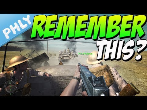 Call Of Duty CRUSADER TANK MISSION (Call Of Duty 2 Gameplay) |