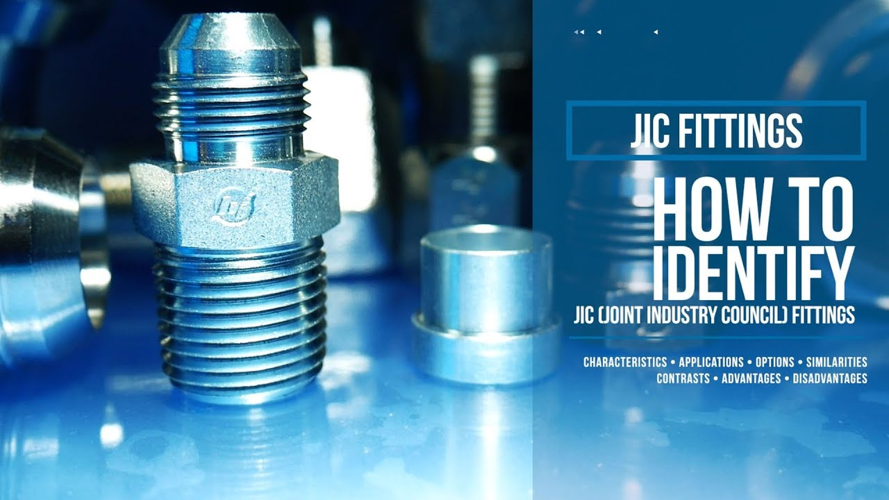 1-1//4 in Male JIC 37/° Flare x 1-1//4 in Male JIC 37/° Flare Brennan 9 Units Straight Adapter Steel