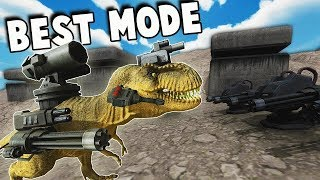 Beast Battle Simulator #3 : 30 Raptor mang minigun , hoàn thành 30 ải
