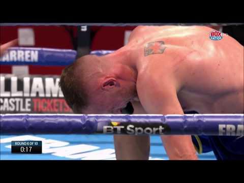 FOUR KNOCKDOWNS! James Metcalf stops Damon Jones in British Title eliminator