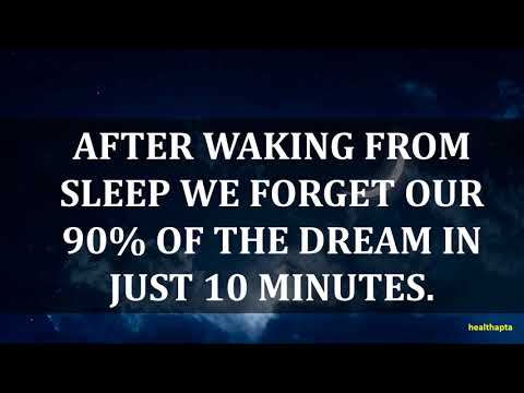 AMAZING PSYCHOLOGICAL FACTS ABOUT DREAMS & NIGHTMARES