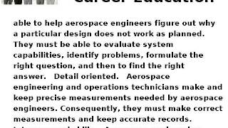 how to become an aerospace engineering or operations technician career education