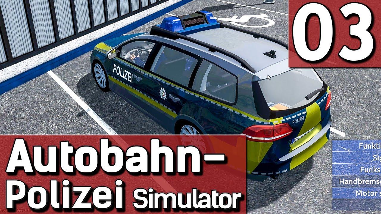 Autobahn Polizei Simulator 2015 #3 Mit Blaulicht und Sirene zum ...
