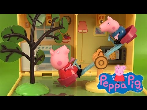 Maison et Jardin de Peppa Pig Jouets et Super sand Peppa's Home & Garden Playset