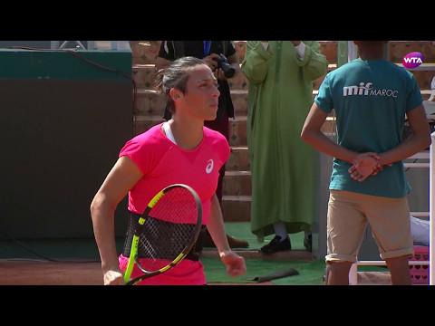 2017 Rabat Semifinals   Francesca Schiavone vs Varvara Lepchenko   WTA Highlights