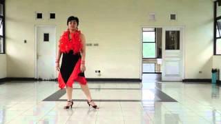 Line Dance - Mira Pa Dentro Walkthrough - Maya Sofia