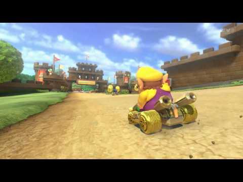 Mario Kart 8: Last Millisecond Finish