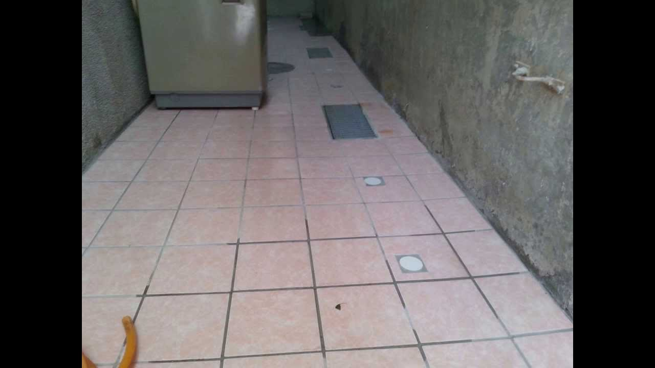 Floor tile installation with sloping plane youtube floor tile installation with sloping plane dailygadgetfo Choice Image